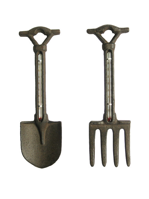 Cast Iron Spade or Fork Thermometer