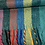 Thumbnail: Large warm stripe multi-coloured scarf