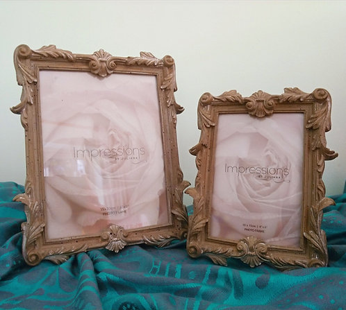 Ornate photo frames from £12.99