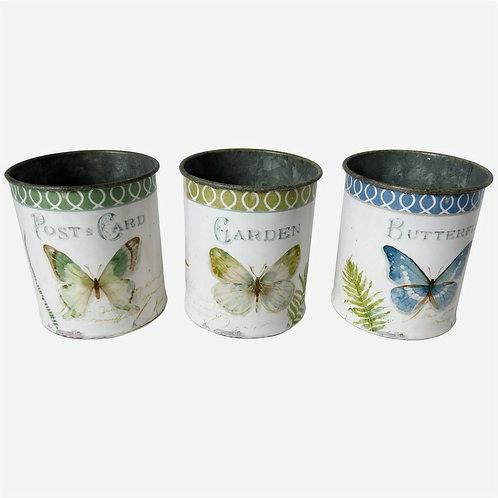 Butterfly Metal Pot