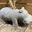 Thumbnail: Heavy Hippo Doorstop Ornament 23x12cm