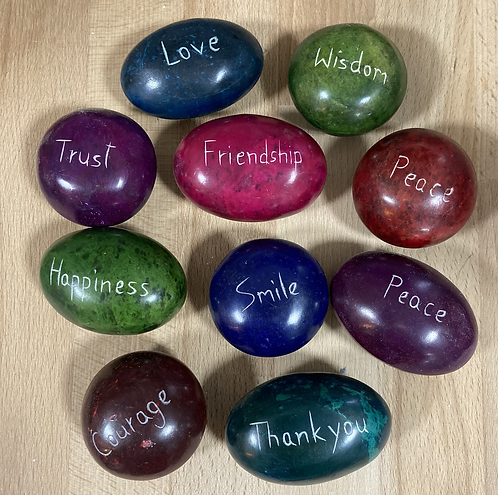 Choice of Coloured Pebbles