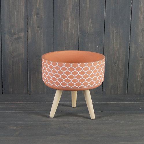 Terracotta Bowl on 3 legs
