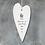 Thumbnail: Porcelain Hanging Heart