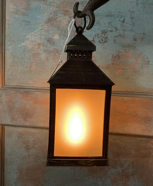 Metal look Led lantern