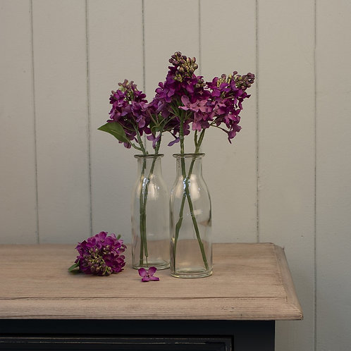 Lilac stems, beautiful faux flowers