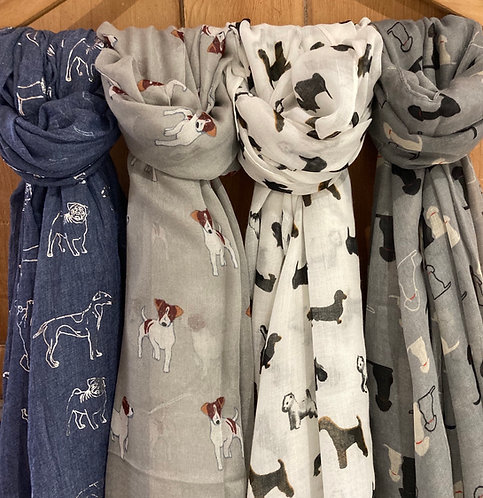 Dog lovers Scarf