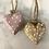 Thumbnail: Wooden dotty heart 50mm