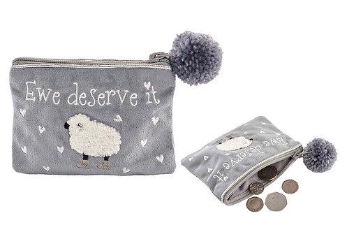 Sheep 'Ewe deserve it' Purse