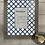 Thumbnail: Mothers day wording in Blue and Grey Pattern Picture Frame