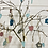 Thumbnail: Branch Trees in wooden base, for hanging decorations from £15
