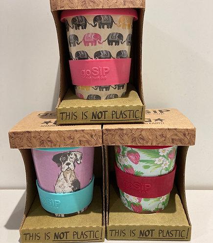 Rice husk reusable coffee/tea 400ml cup