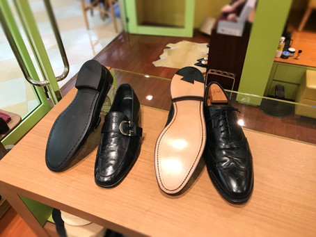 オールソール 靴修理