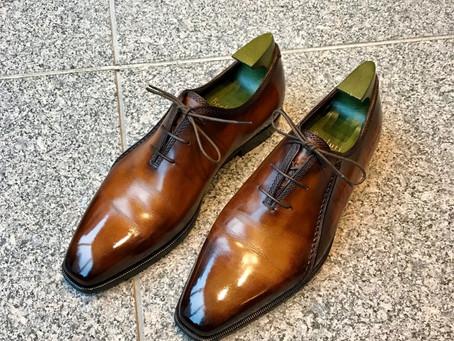 Berluti の靴磨き