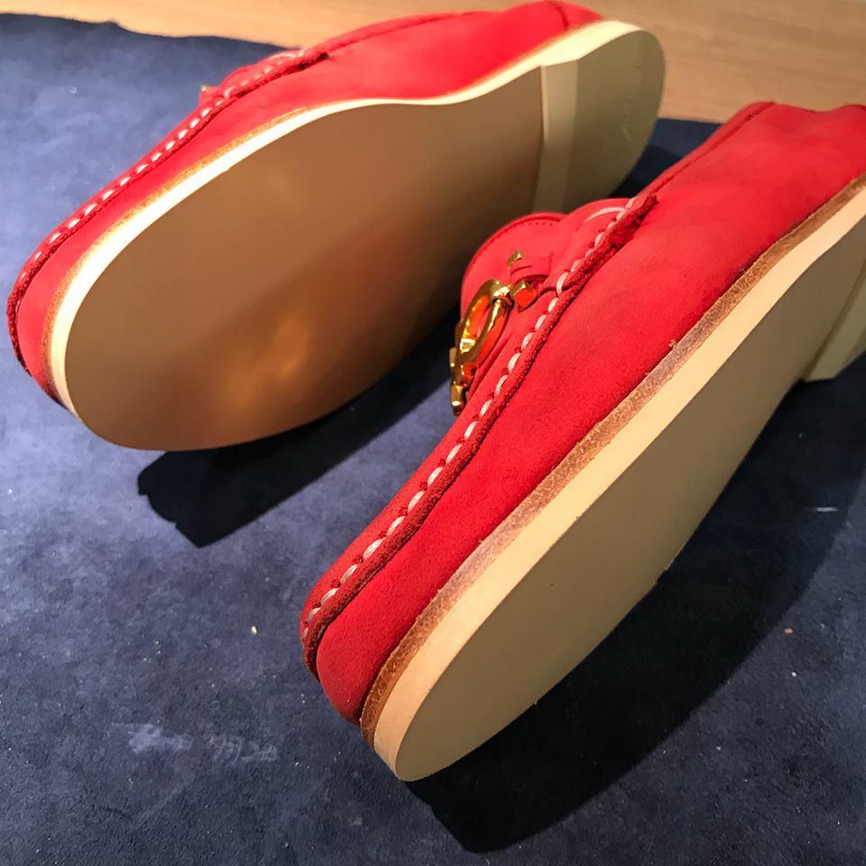 フェラガモ オールソール 靴修理