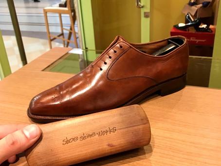 靴ブラシ、売れてます。