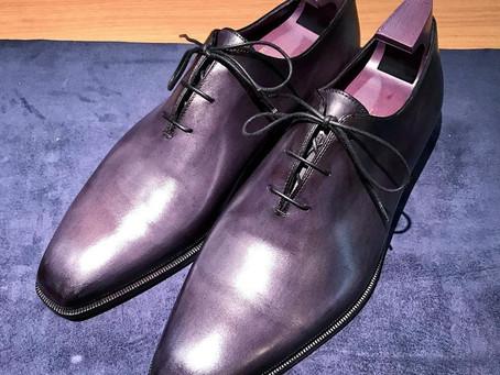 Berluti〈アレッサンドロ)の靴磨き