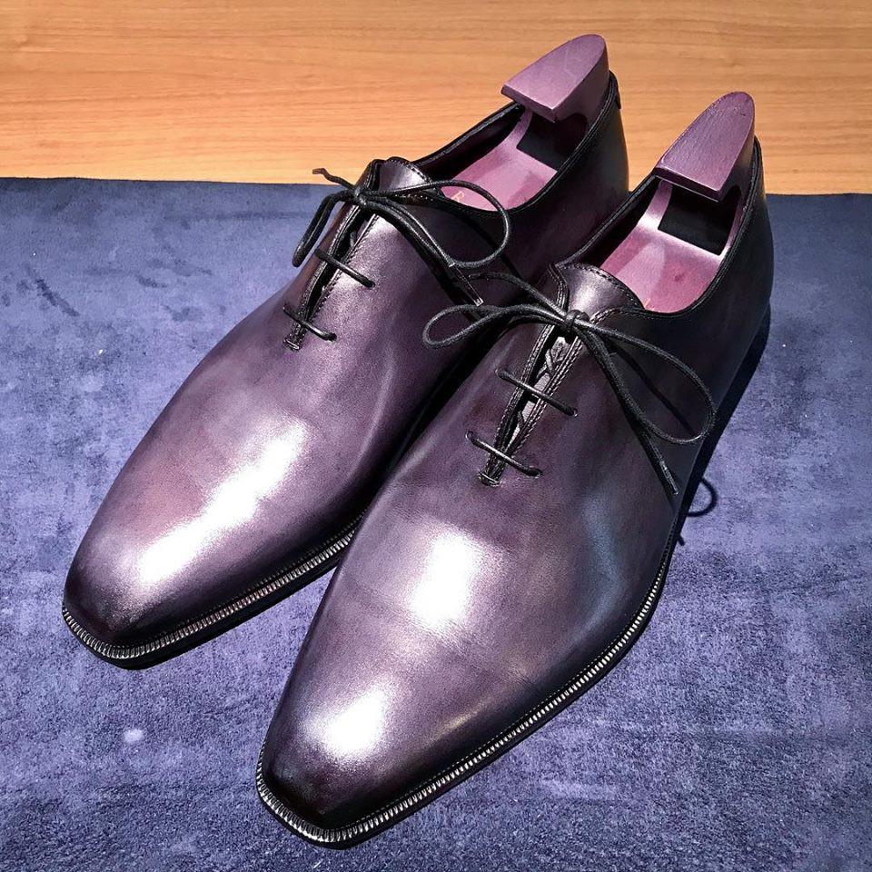 ベルルッティ 靴磨き クリーニング 宅配