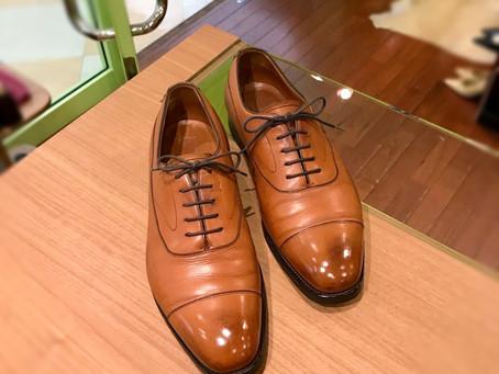 edwardgreen の靴磨き修理