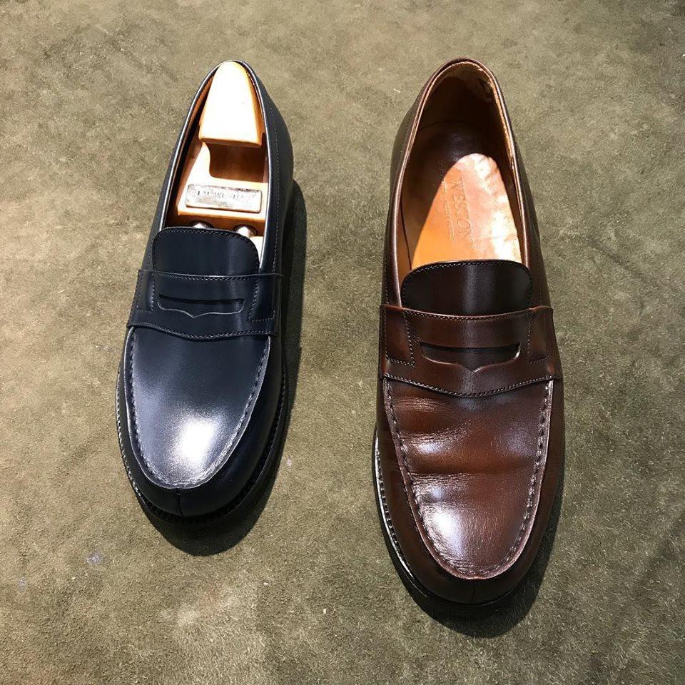 J.M.ウエストンの宅配集荷靴磨き