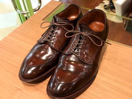Alden の靴磨き