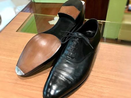 JOHN LOBB のオールソール修理と靴磨き