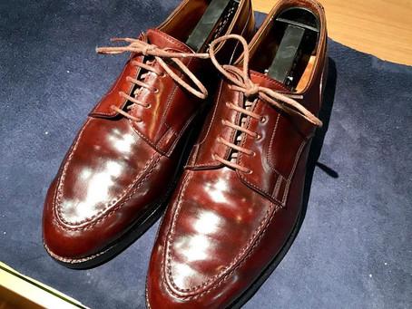 クロケット&ジョーンズの靴磨き&クリーニング