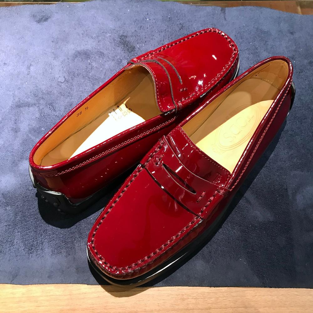 トッズの宅配集荷靴磨き修理ならShoe Shine WORKSにお任せください。