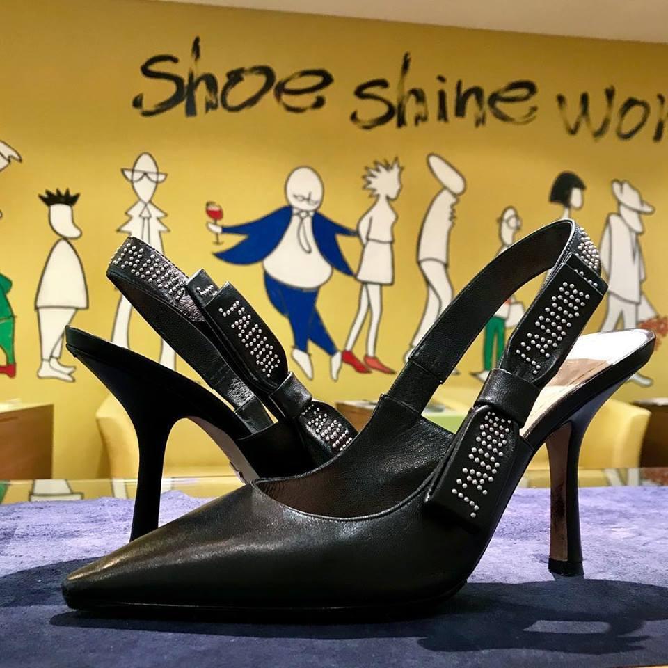ディオールの宅配集荷靴磨き&クリーニング