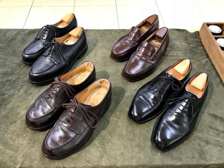 J.M WESTON の靴磨き
