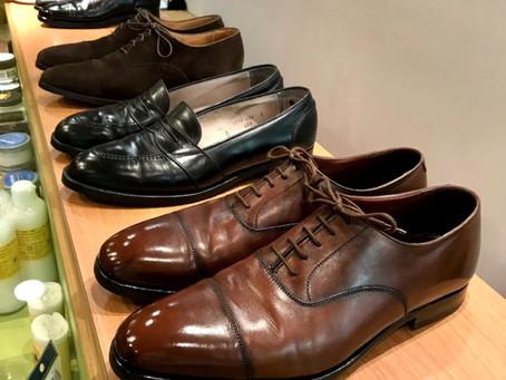 中央区銀座より靴宅便をご利用いただきました。