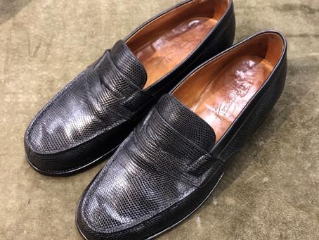 J.M.ウエストン の靴磨き