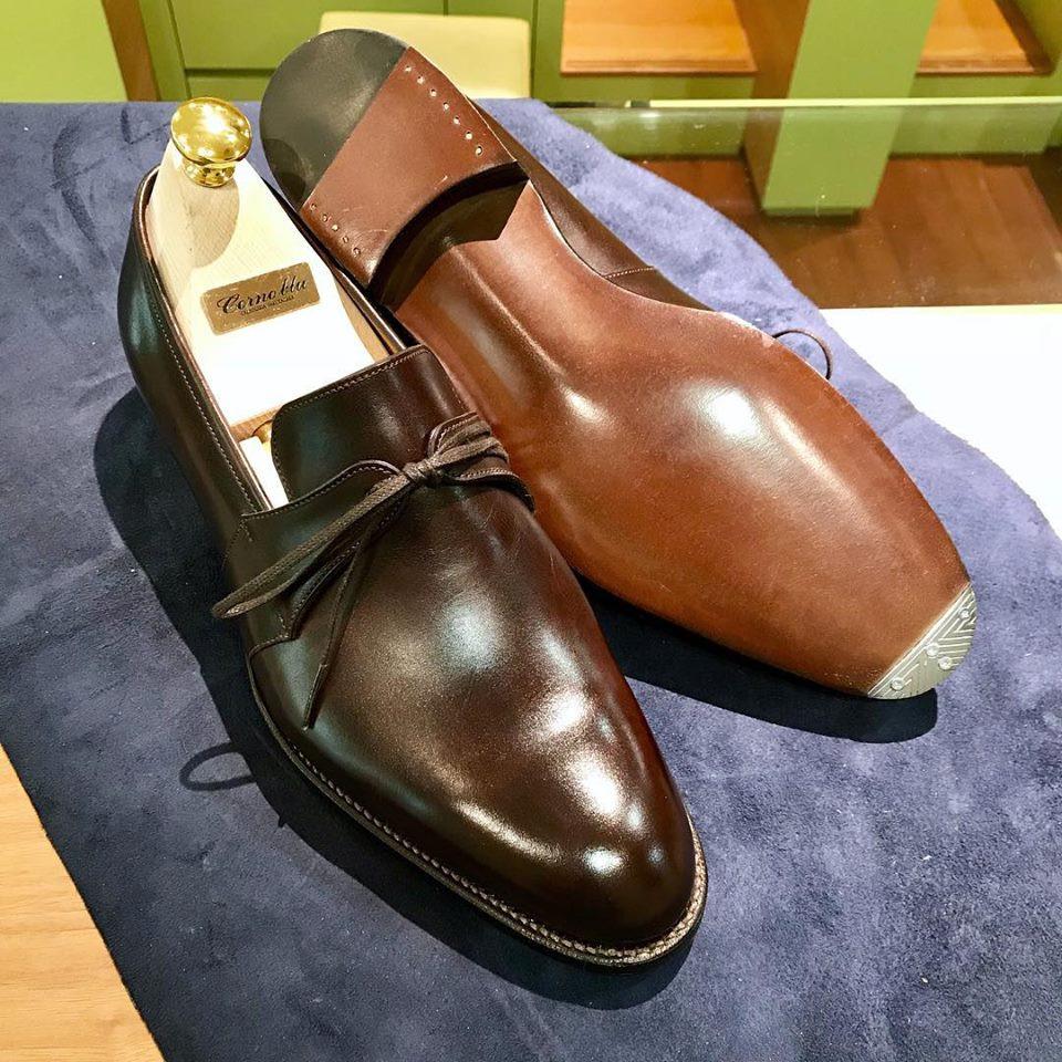 コルノブルーの宅配集荷靴磨き&クリーニング