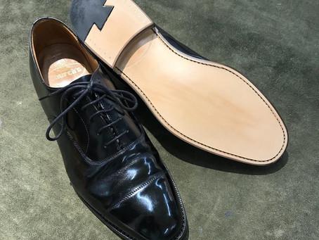 Church's の靴磨き&靴修理