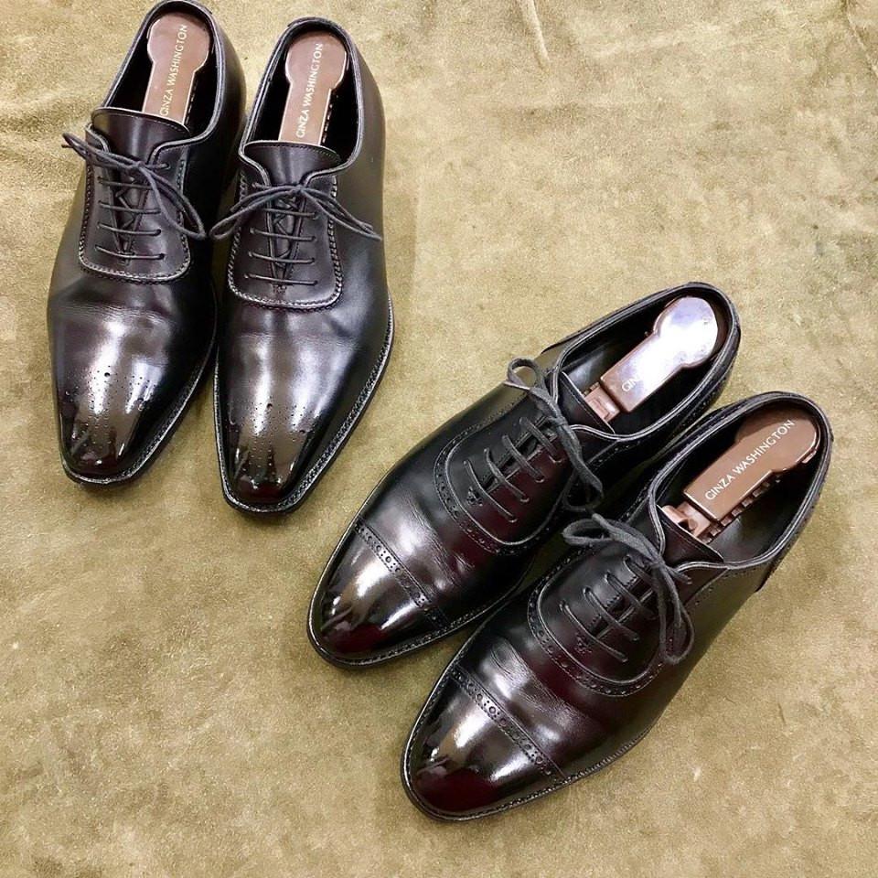 三陽山長の集荷宅配靴磨き&クリーニング