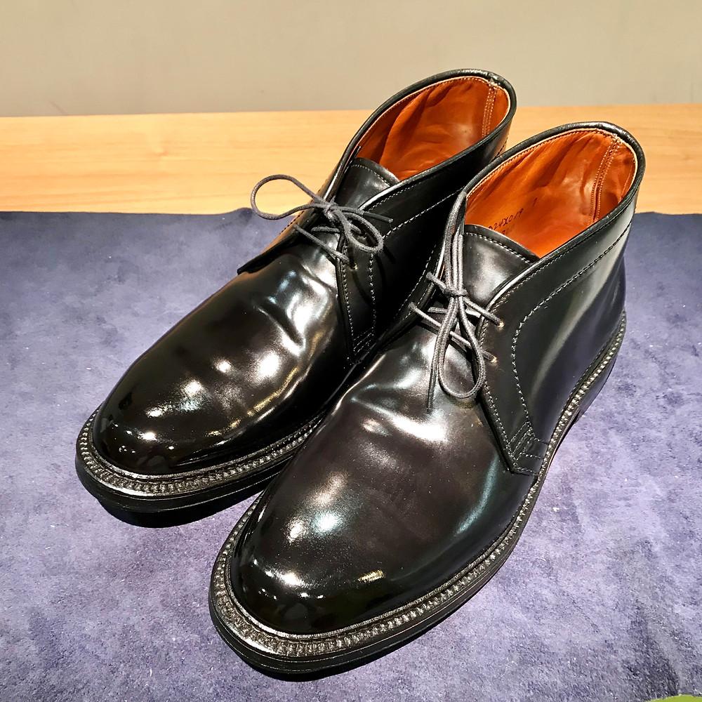 オールデンの宅配集荷靴磨きならシューシャインワークスにお任せください。