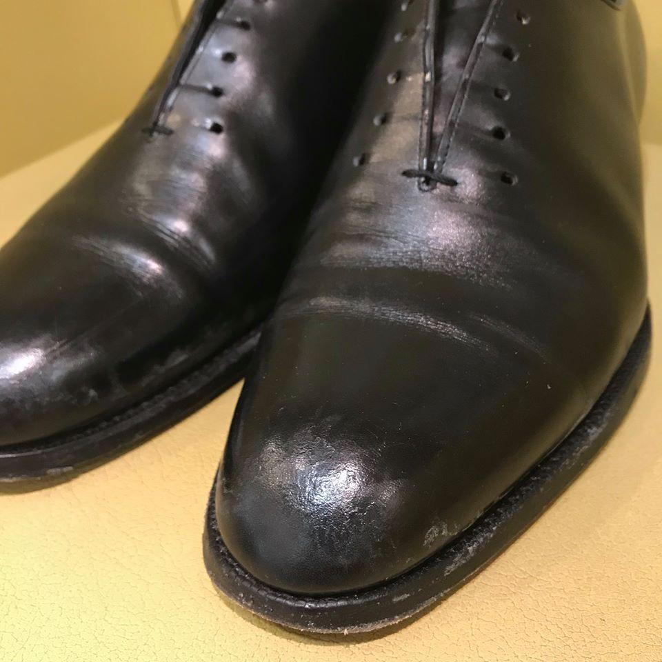 雨染み靴の宅配集荷靴クリーニングならShoe Shine WORKS