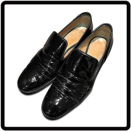 靴磨き エナメル 方法