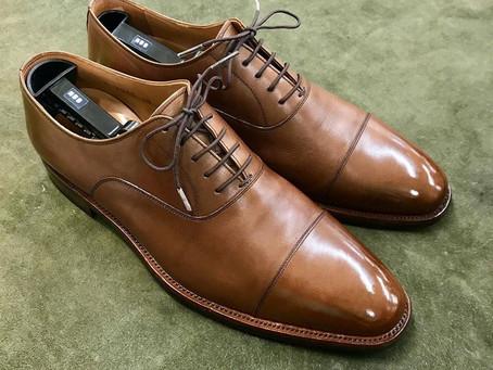 Scotch Grain の鏡面靴磨き&靴修理