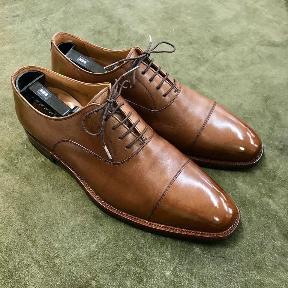 スコッチグレインの宅配集荷靴磨き&クリーニング