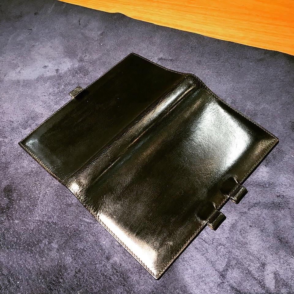 エルメスの財布の宅配集荷クリーニング