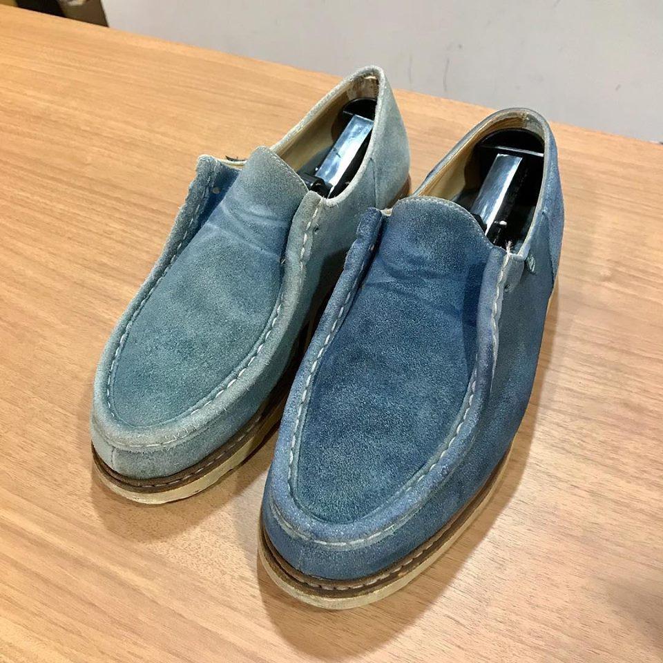 パラブーツの宅配集荷靴磨きと修理ならシューシャインワークスにお任せください。