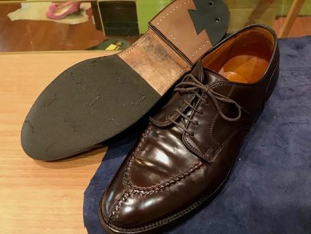 Aldenの靴磨きと靴修理
