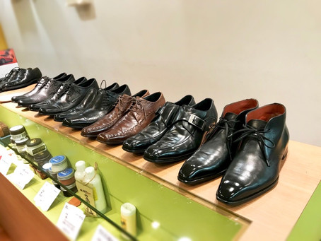 港区広尾より靴宅便ご利用いただきました。