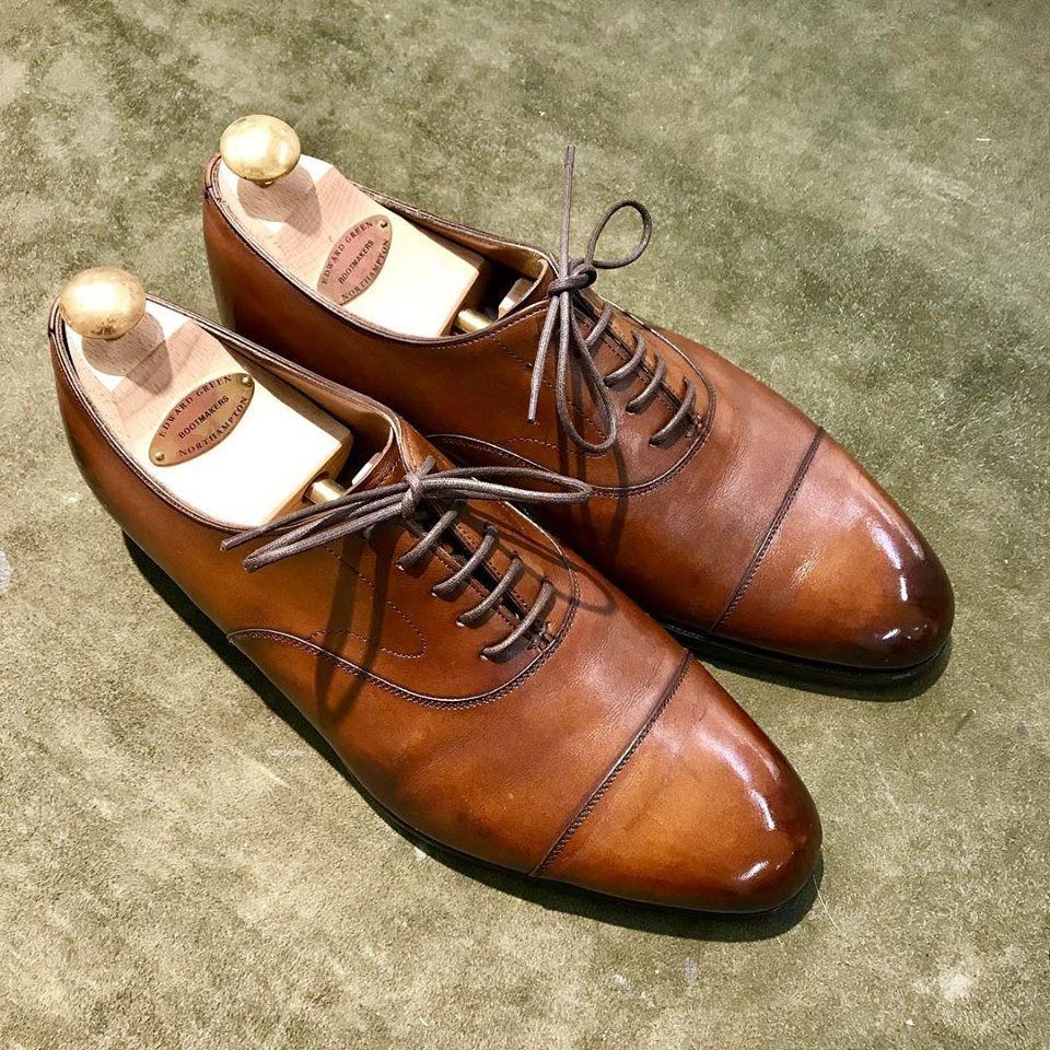 エドワードグリーンの宅配集荷靴磨き