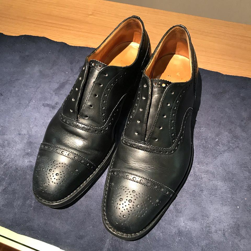 革靴 水洗い クリーニング