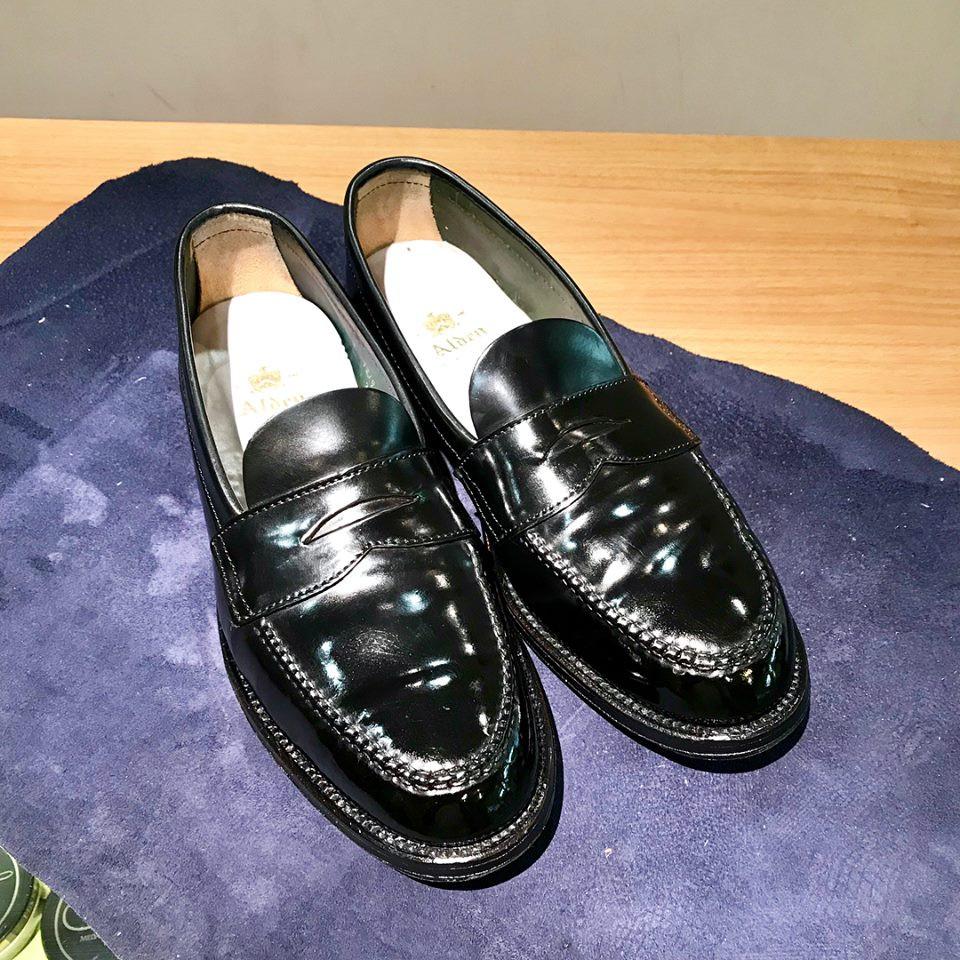 オールデンの宅配集荷靴磨き&クリーニング