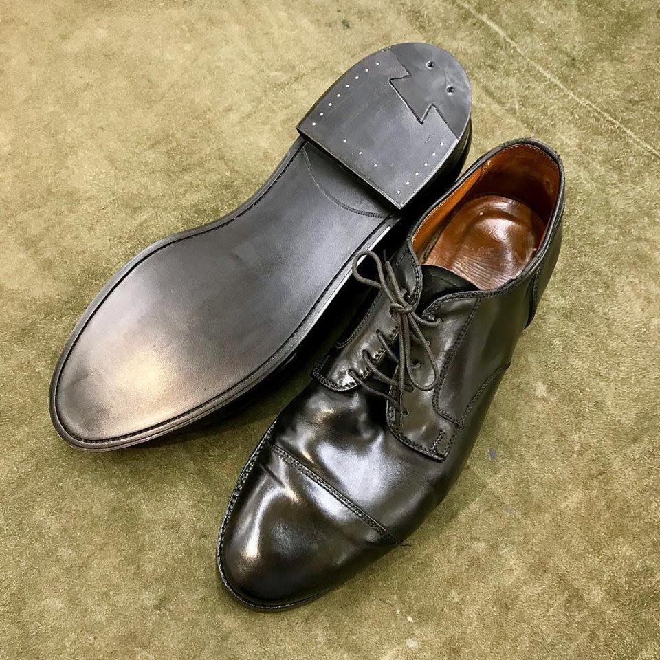 オールデンの宅配集荷靴修理ならShoe Shine WORKSにお任せください。