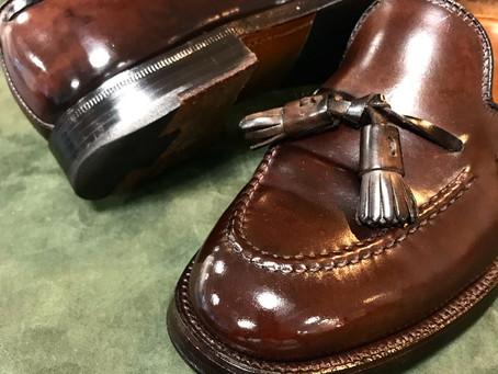 オールデンの靴磨き&クリーニング PART2