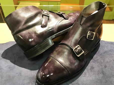 john lobb の靴磨き